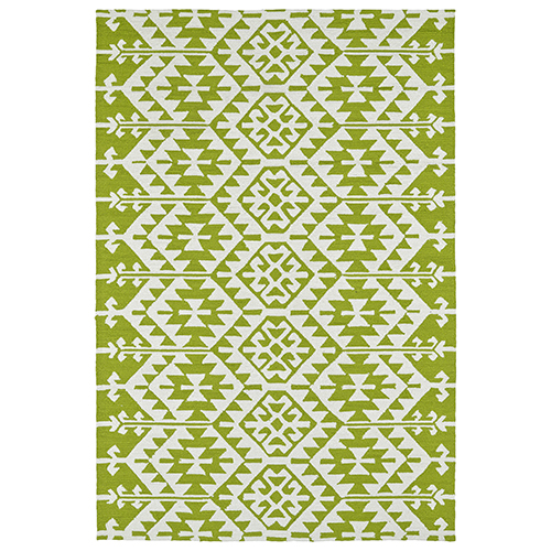 Habitat Lime Green Rectangular: 5 Ft. x 7 Ft. 6 In.
