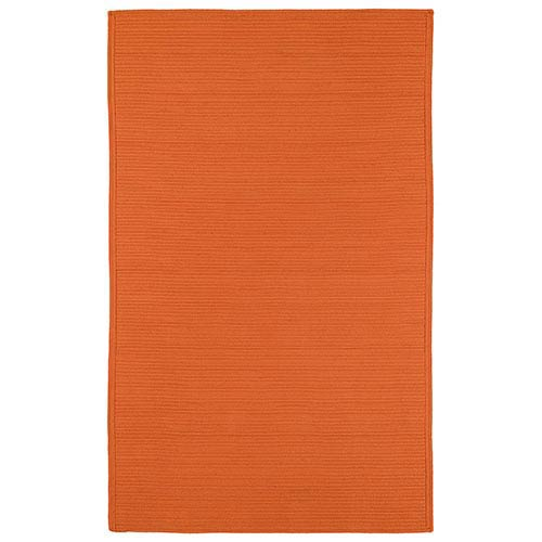 Bikini Orange Rectangular: 5 Ft. x 8 Ft. Rug