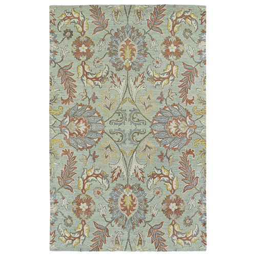 Helena Mint Hand Tufted 9Ft. x 12Ft. Rectangle Rug