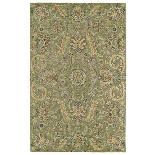 Helena Collection Virgil Green Rectangular: 8 Ft. x 10 Ft. Rug