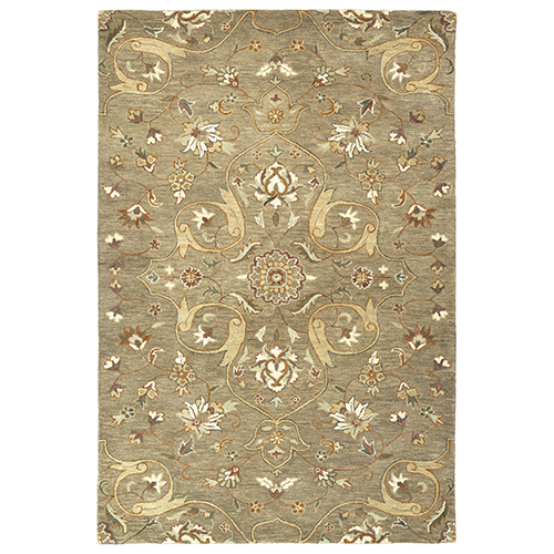 Kaleen Rugs Helena Light Brown Rectangular: 2 Ft. x 3 Ft.