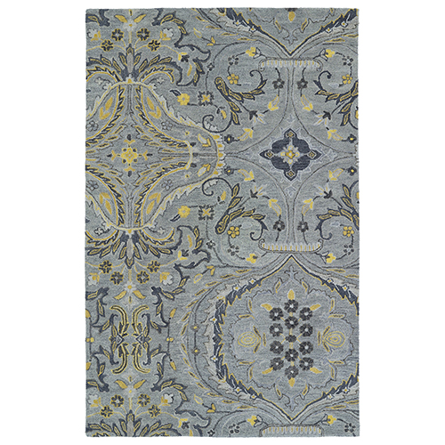 Helena Grey Hand-Tufted 12Ft. x 15Ft. Rectangle Rug