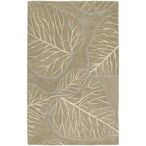 Kaleen Rugs Astronomy Newton Chocolate Rectangular: 5 Ft. x 7 Ft. 9 In. Rug
