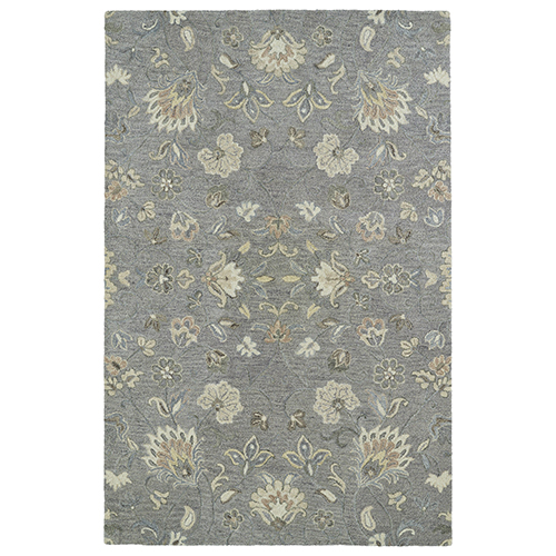 Helena Grey Hand Tufted 8Ft. X 10Ft. Rectangle Rug