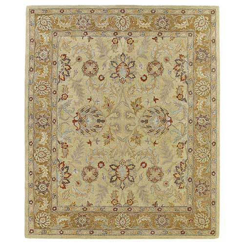 Kaleen Rugs Solomon Joab Gold Rectangular: 5 Ft. x 7 Ft. 9 In. Rug