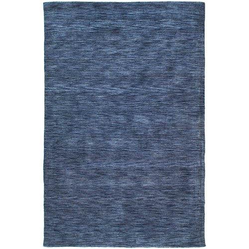 Kaleen Rugs Renaissance Blue Rectangular: 5 Ft. x 7 Ft. 6 In. Rug