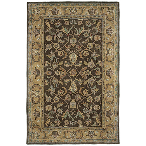 Mystic Chocolate Hand Tufted 2Ft. x 3Ft. Rectangle Rug