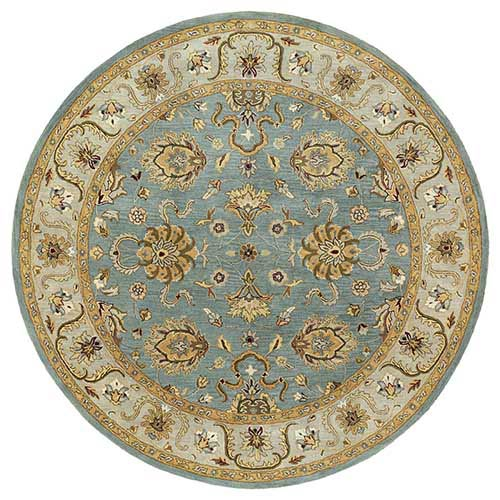 Kaleen Rugs Mystic Agean Spa Round: 7 Ft. 9 In. Rug