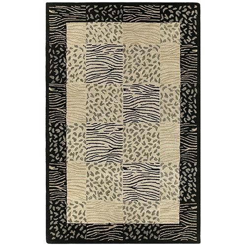 Kaleen Rugs Khazana Linen Rectangular: 5 Ft. x 7 Ft. 9 In. Rug