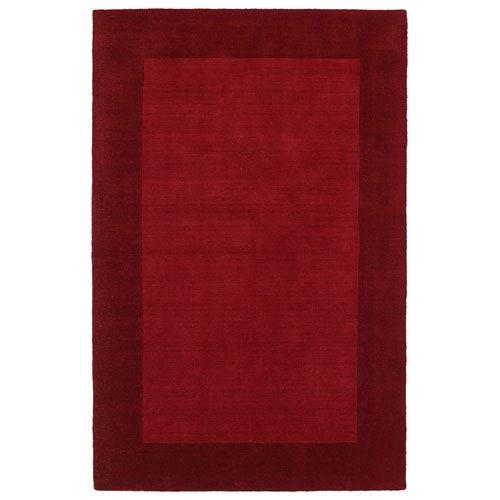 Kaleen Rugs Regency Red Rectangular: 5 Ft. by 7 Ft. 9 In. Rug