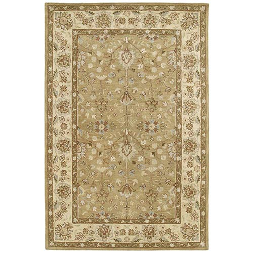 Kaleen Rugs Heirloom Collection Katherine Came Rectangular: 5 Ft. x 7 Ft. 9 In. Rug