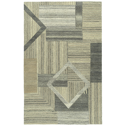Alzada Brown Hand-Tufted 2Ft. x 3Ft. Rectangle Rug