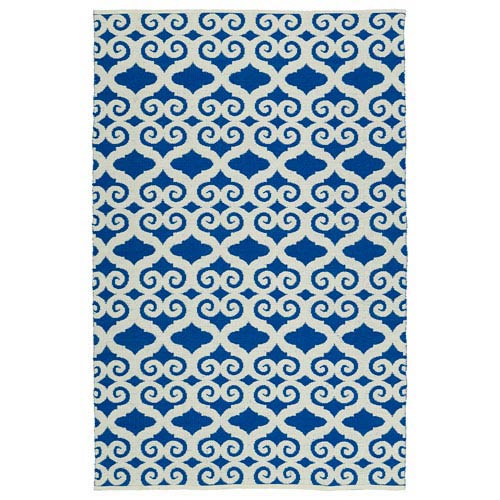 Brisa Navy and Ivory Rectangular: 3 Ft x 5 Ft Rug