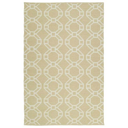Kaleen Rugs Brisa Khaki and Ivory Rectangular: 2 Ft x 3 Ft Rug