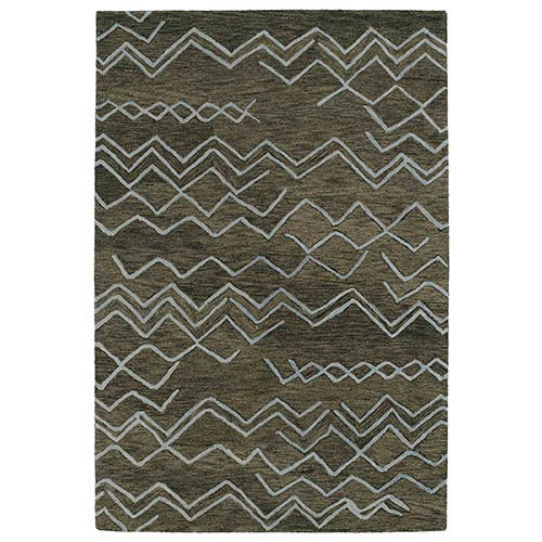 Kaleen Rugs Casablanca Ash Rectangular: 5 Ft. x 8 Ft. Rug