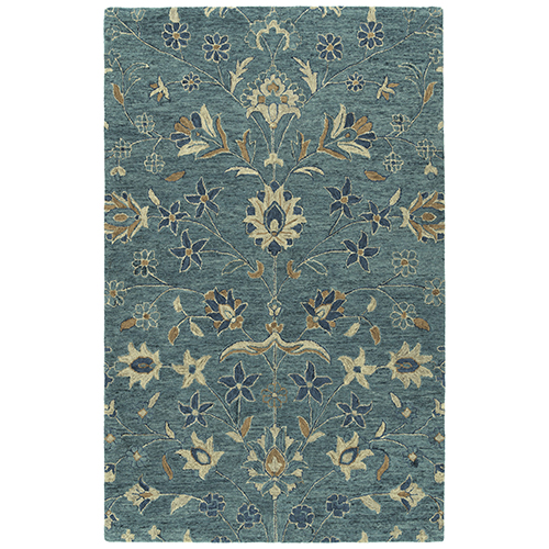 Chancellor Blue Hand-Tufted 4Ft. x 6Ft. Rectangle Rug