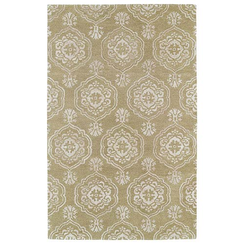 Kaleen Rugs Divine Light Brown DIV07 Rectangular: 5 Ft. x 7 Ft. 9 In. Rug