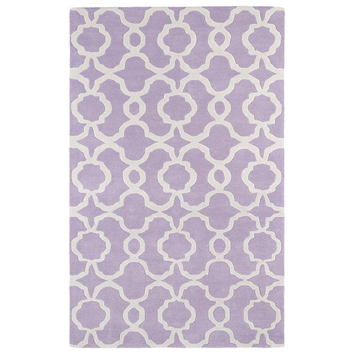 Revolution Lilac Hand Tufted 9Ft. 9In Round Rug