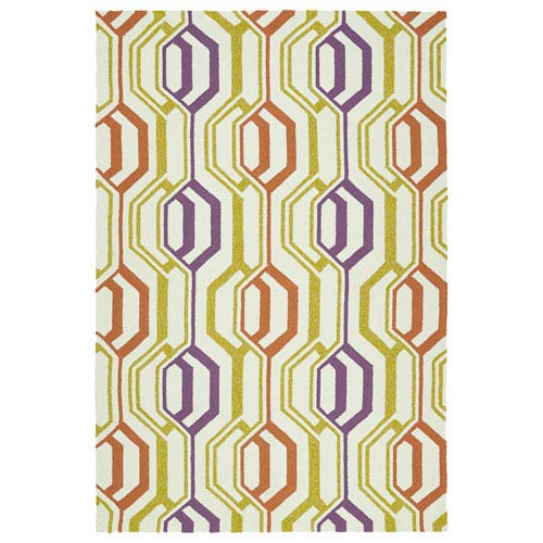 Escape Ivory Rectangular: 5 Ft x 7 Ft 6 In Rug