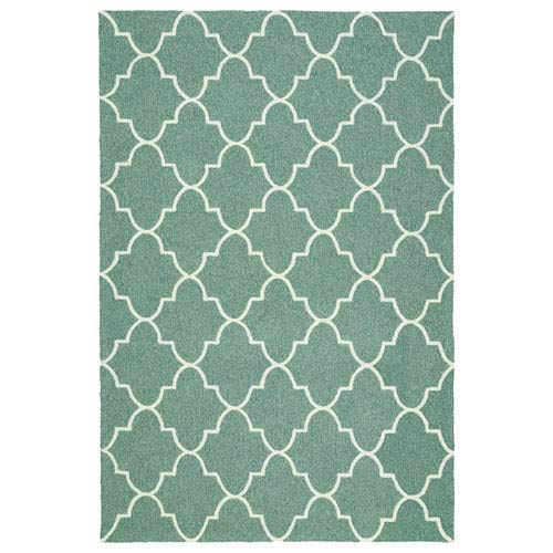 Escape Mint and Ivory Rectangular: 2 Ft x 3 Ft Rug