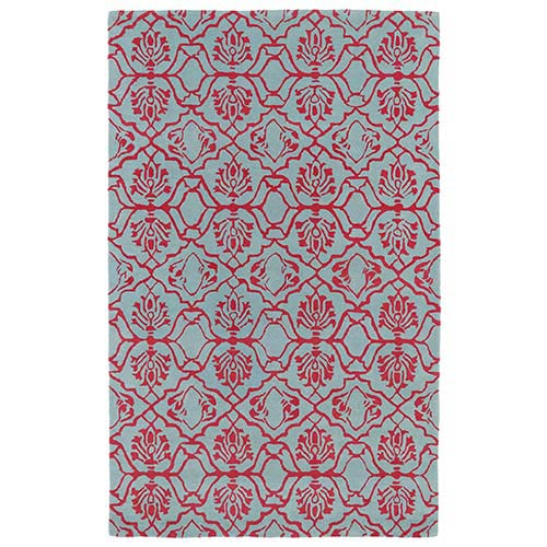 Evolution Pink Rectangular: 8 Ft. x 11 Ft. Rug