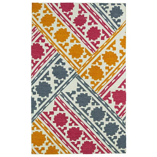 Glam Multicolor GLA02 Rectangular: 5 Ft. x 8 Ft. Rug