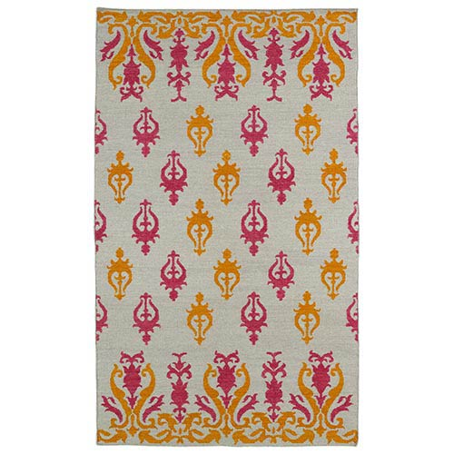 Kaleen Rugs Glam Light Brown GLA04 Rectangular: 5 Ft. x 8 Ft. Rug