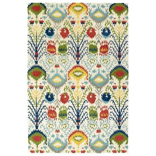 Global Inspiration Multicolor Rectangular: 2 Ft. x 3 Ft. Rug