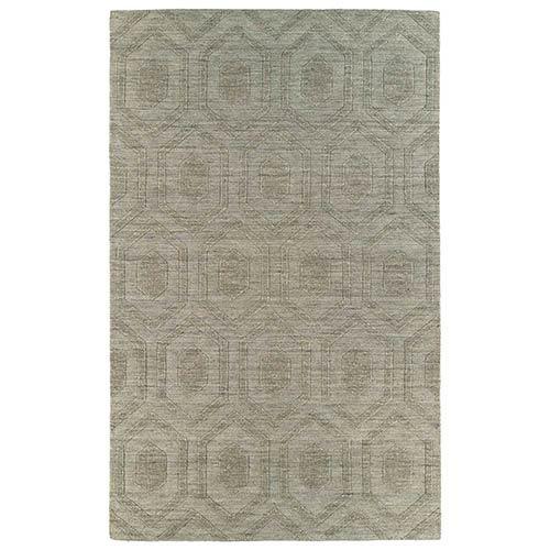 Kaleen Rugs Imprints Modern Light Brown Rectangular: 5 Ft. x 8 Ft. Rug