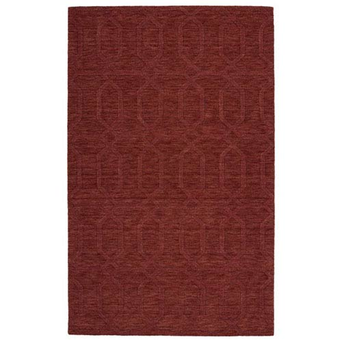 Kaleen Rugs Imprints Modern Cinnamon Rectangular: 2 Ft. x 3 Ft. Rug