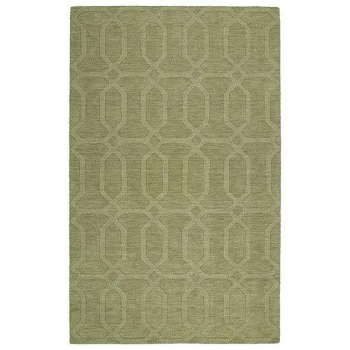Kaleen Rugs Imprints Modern Sage Rectangular: 2 Ft. x 3 Ft. Rug