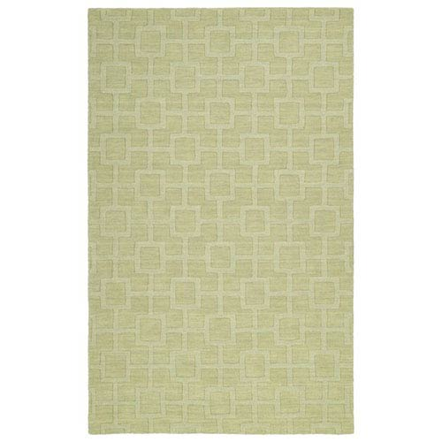 Imprints Modern Celery Rectangular: 2 Ft. x 3 Ft. Rug