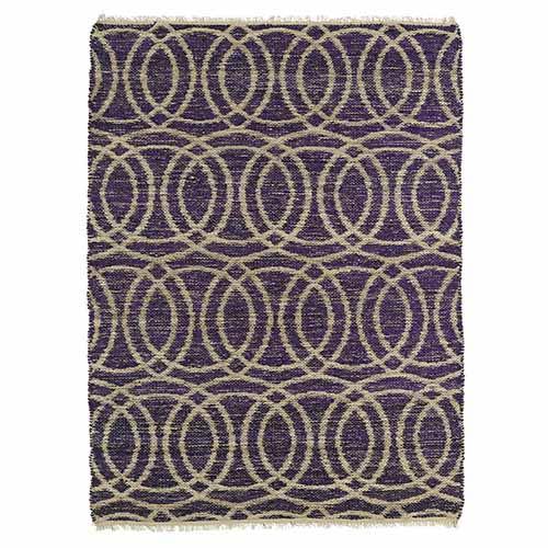 Kaleen Rugs Kenwood Purple KEN03 Rectangular: 5 Ft. x 7 Ft. 9 In. Rug