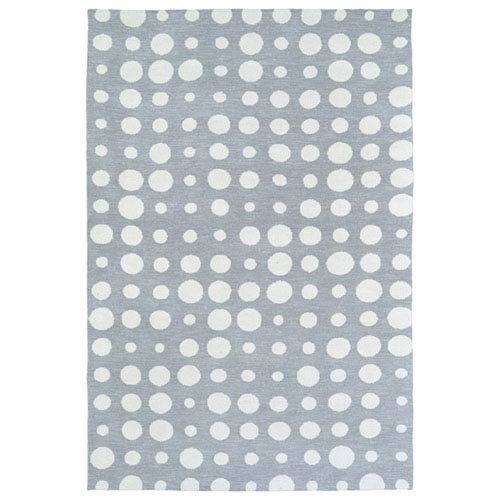 Kaleen Rugs Lily and Liam Grey Rectangular: 2 Ft. x 3 Ft. Rug