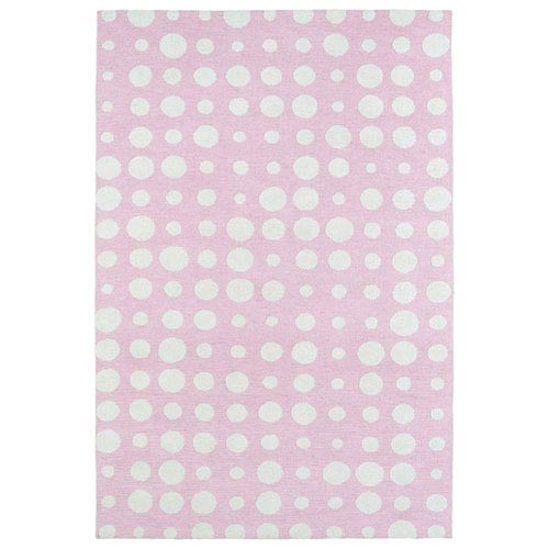 Kaleen Rugs Lily and Liam Pink Rectangular: 2 Ft. x 3 Ft. Rug