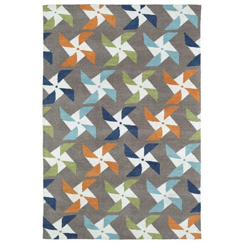 Kaleen Rugs Lily and Liam Taupe Rectangular: 2 Ft. x 3 Ft. Rug