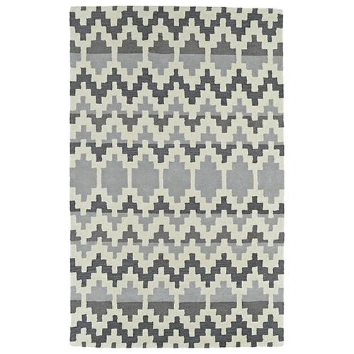 Kaleen Rugs Lakota Grey Rectangular: 2 Ft. x 3 Ft.