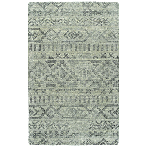 Palladian Silver Hand-Tufted 9Ft. x 12Ft. Rectangle Rug