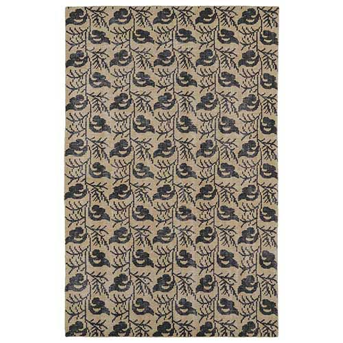 Kaleen Rugs Restoration Gold Rectangular: 5 Ft. 6 In. x 8 Ft. 6 In. Rug