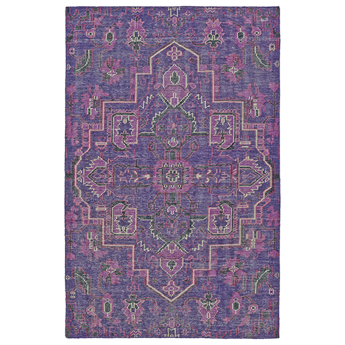 Relic Purple Rectangular: 2 Ft. x 3 Ft.