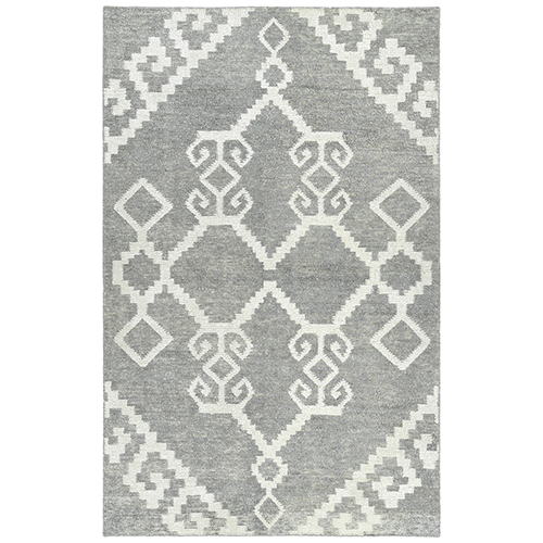 Solitaire Grey Hand-Woven 9Ft. 6In x 13Ft. Rectangle Rug