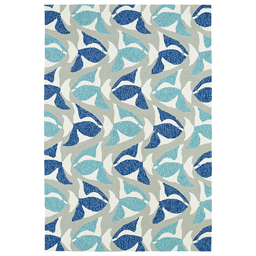 Sea Isle Blue Rectangular: 2 Ft. x 3 Ft.