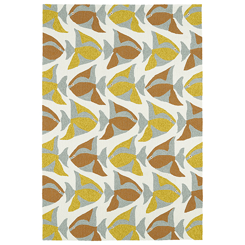 Sea Isle Multicolor Rectangular: 2 Ft. x 3 Ft.