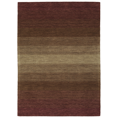 Kaleen Rugs Shades Wine Rectangular: 5 Ft. x 7 Ft. 6 In.