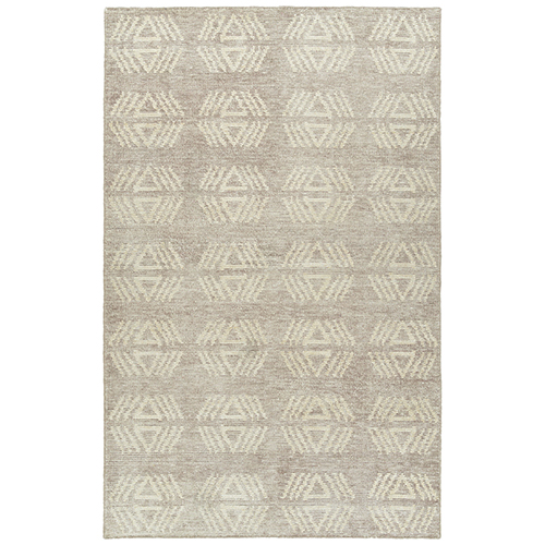 Solitaire Hand Woven  Bamboo Silk Rug