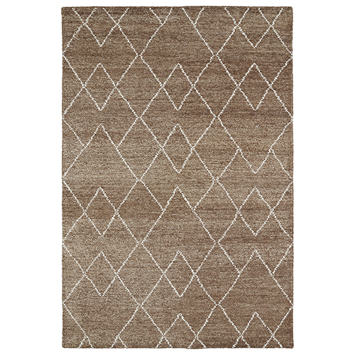 Solitaire Brown Rectangular: 2 Ft. x 3 Ft.
