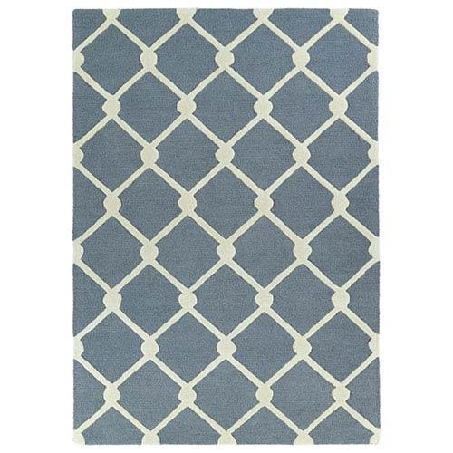 Kaleen Rugs Spaces Grey Rectangular: 2 Ft. x 3 Ft. Rug
