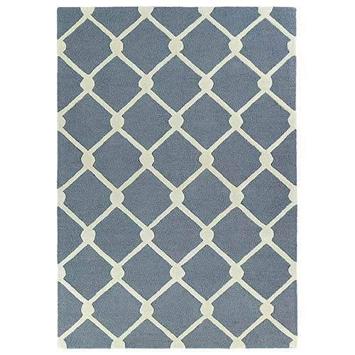 Kaleen Rugs Trends Grey TRN01 Rectangular: 5 Ft. x 7 Ft. Rug