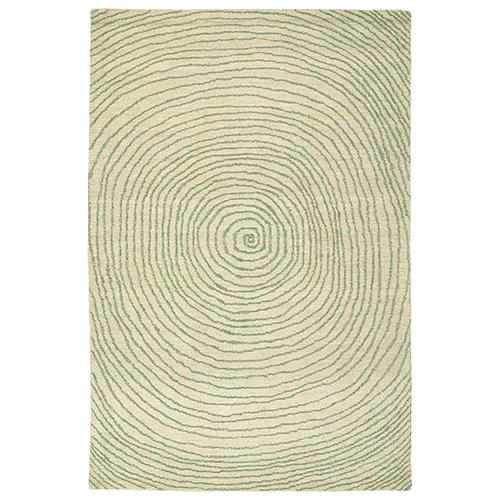 Textura Green Rectangular: 9 Ft. x 12 Ft.