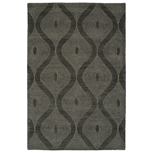 Textura Charcoal Rectangular: 9 Ft. x 12 Ft.